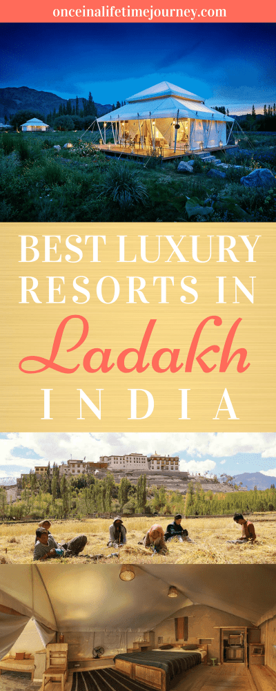 Best Luxury Hotels in Ladakh, India Pin