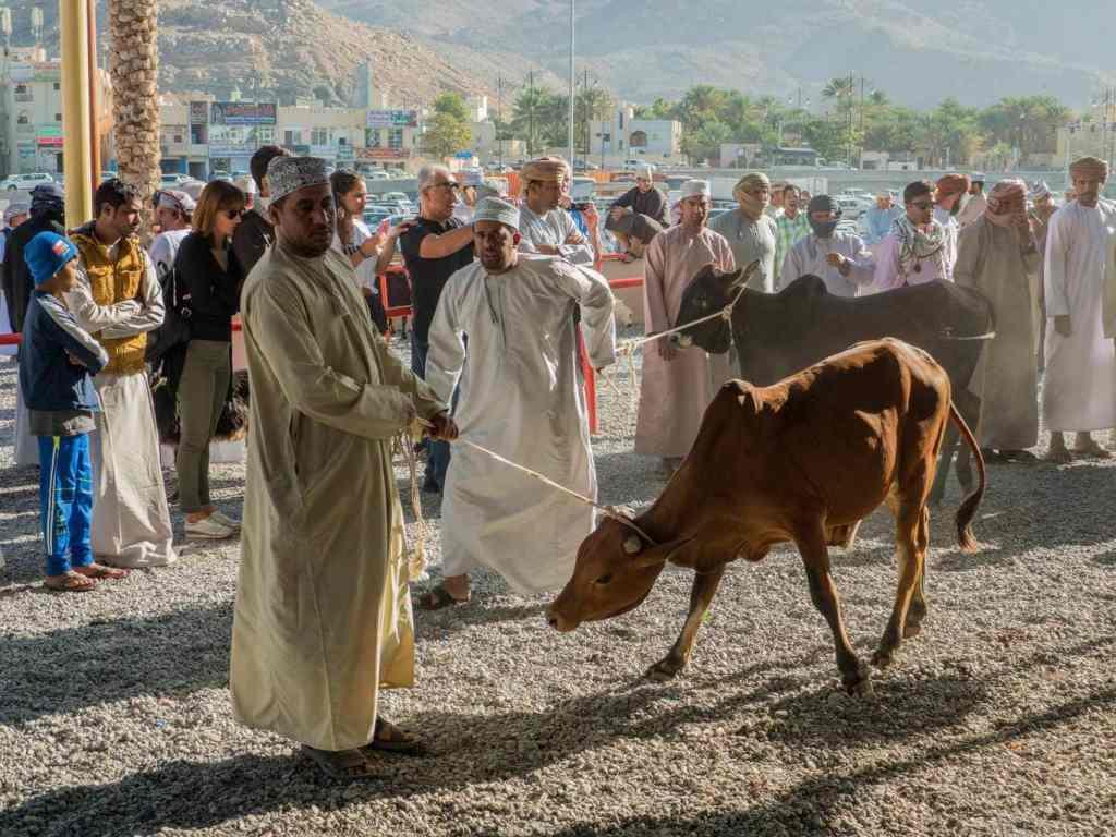Goat Market at Nizwa