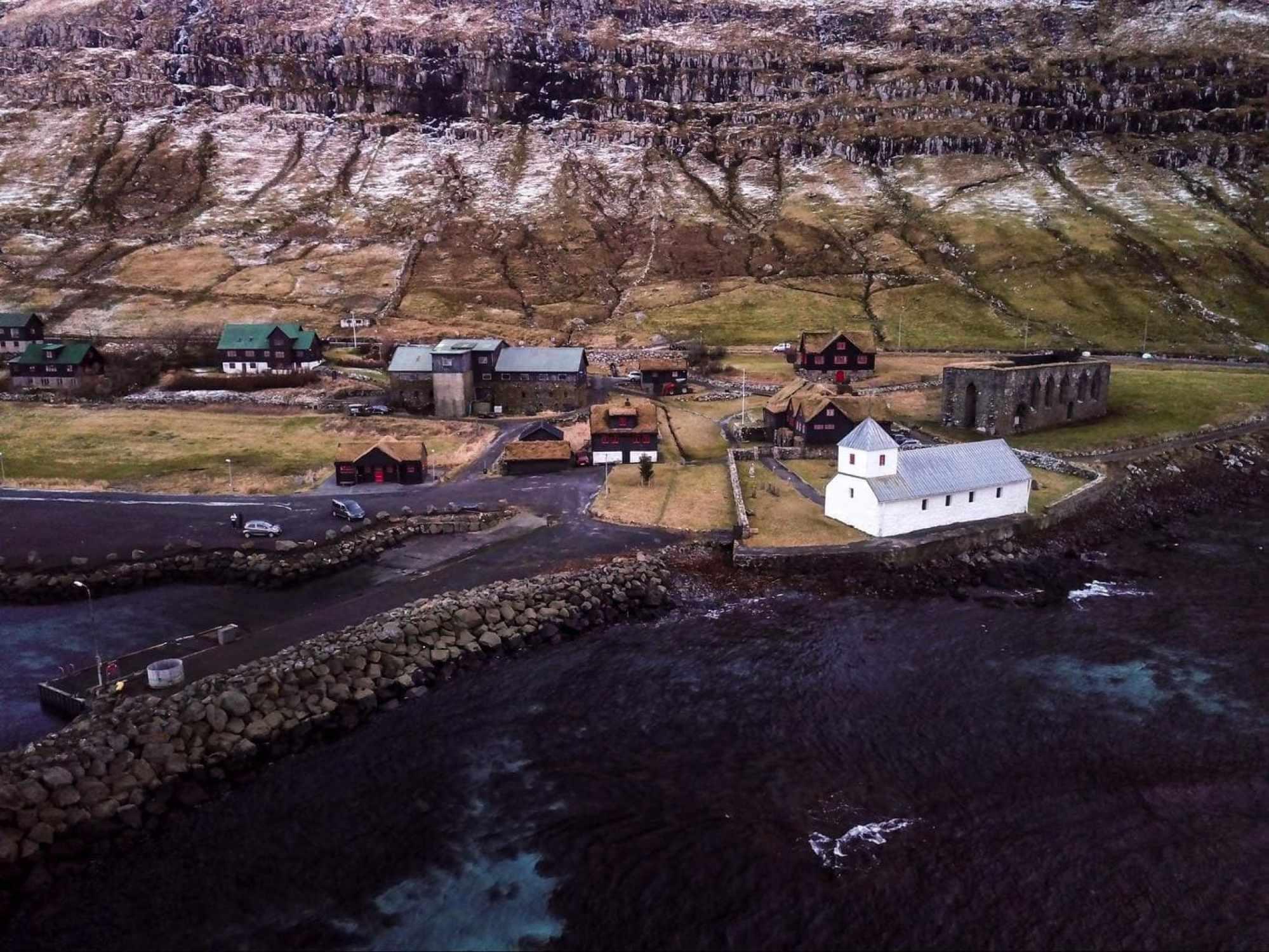 Village of Kirkjubøur