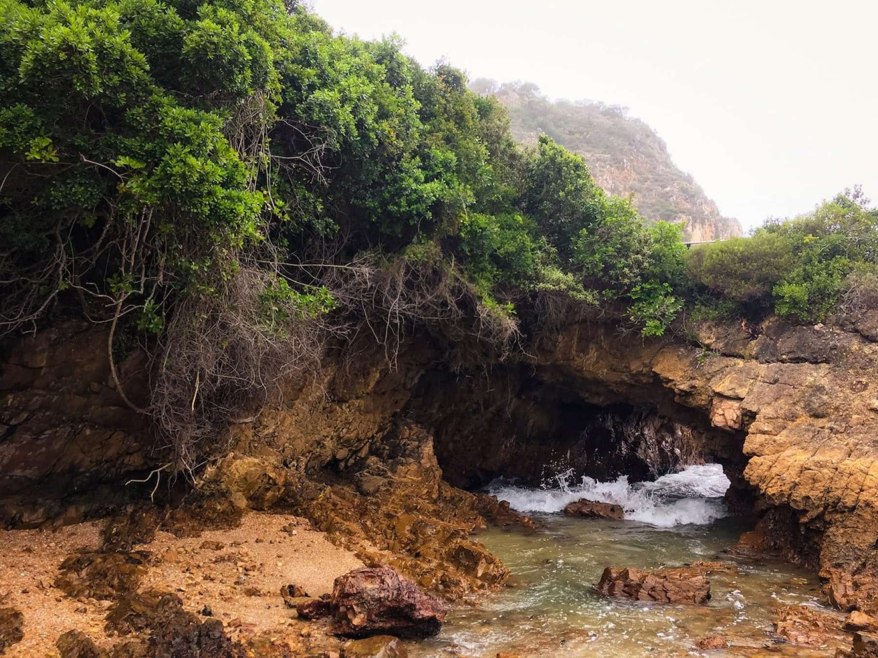 Cave at the Knysna Heads