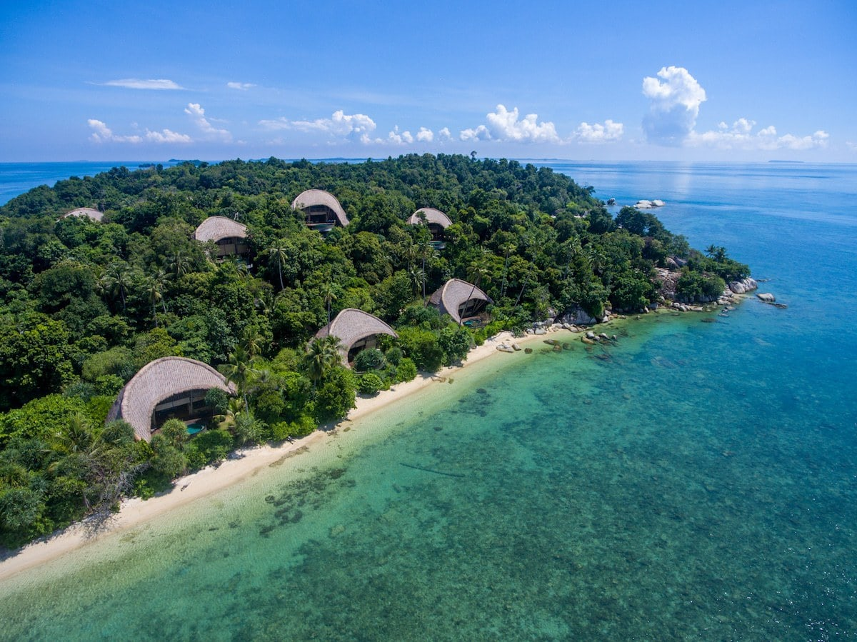 Cempedak Private Island beach villas