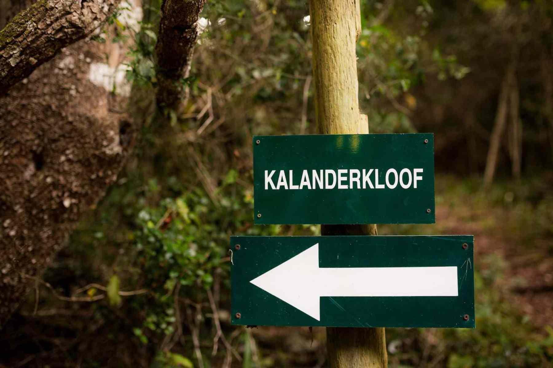 Kalanderkloof trail