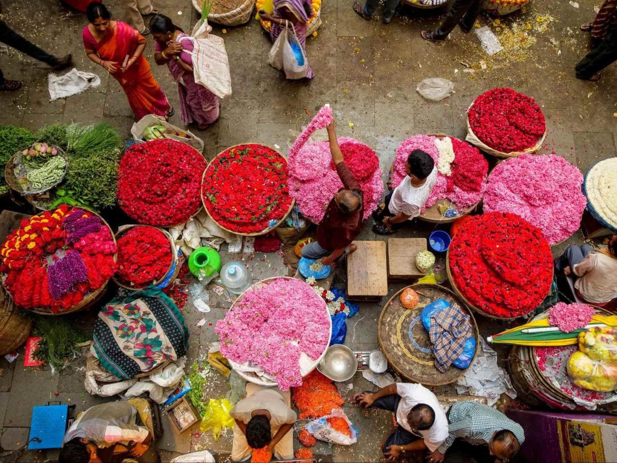 Bangalore KR market