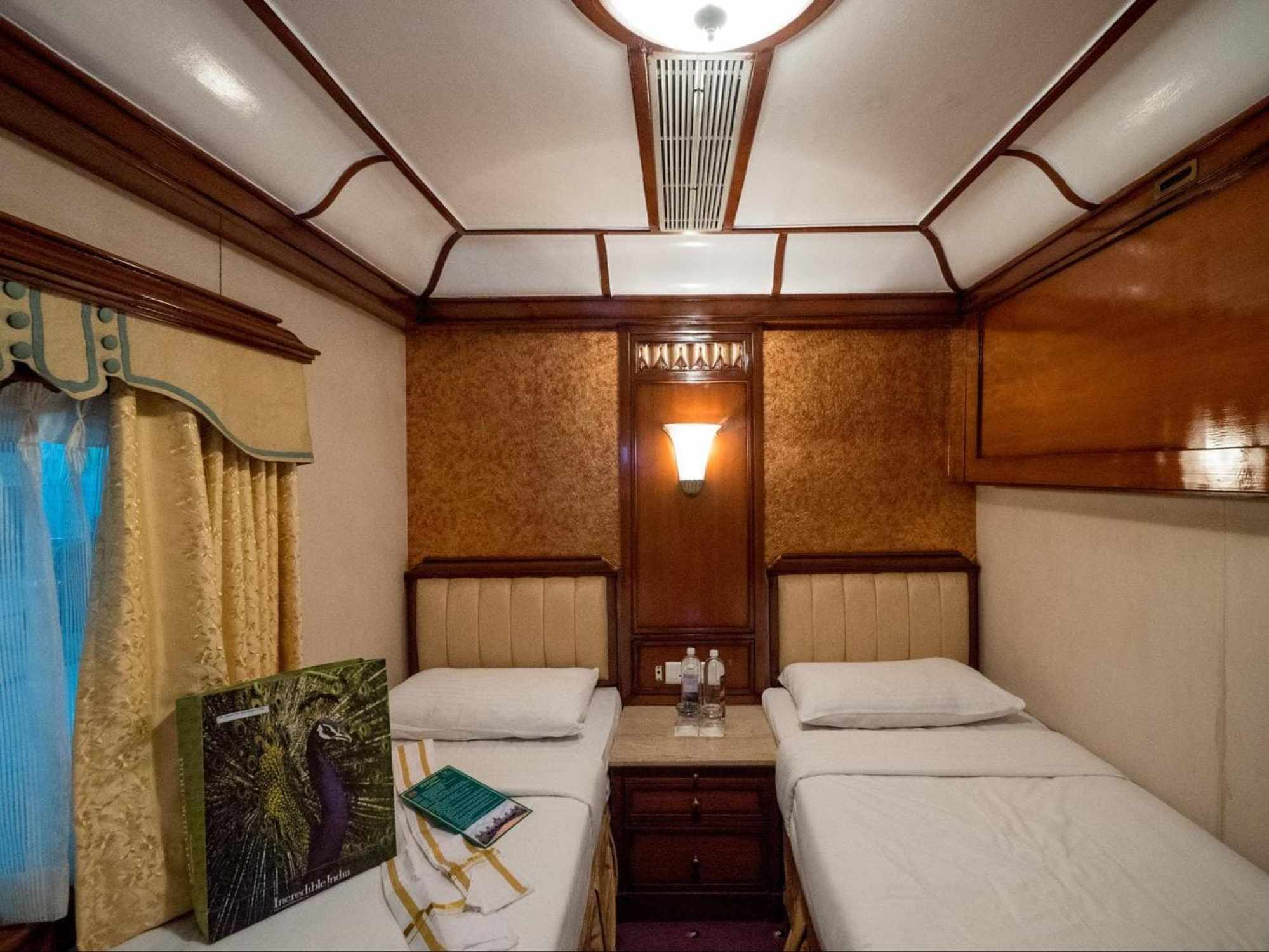 Beds on the Golden Chariot
