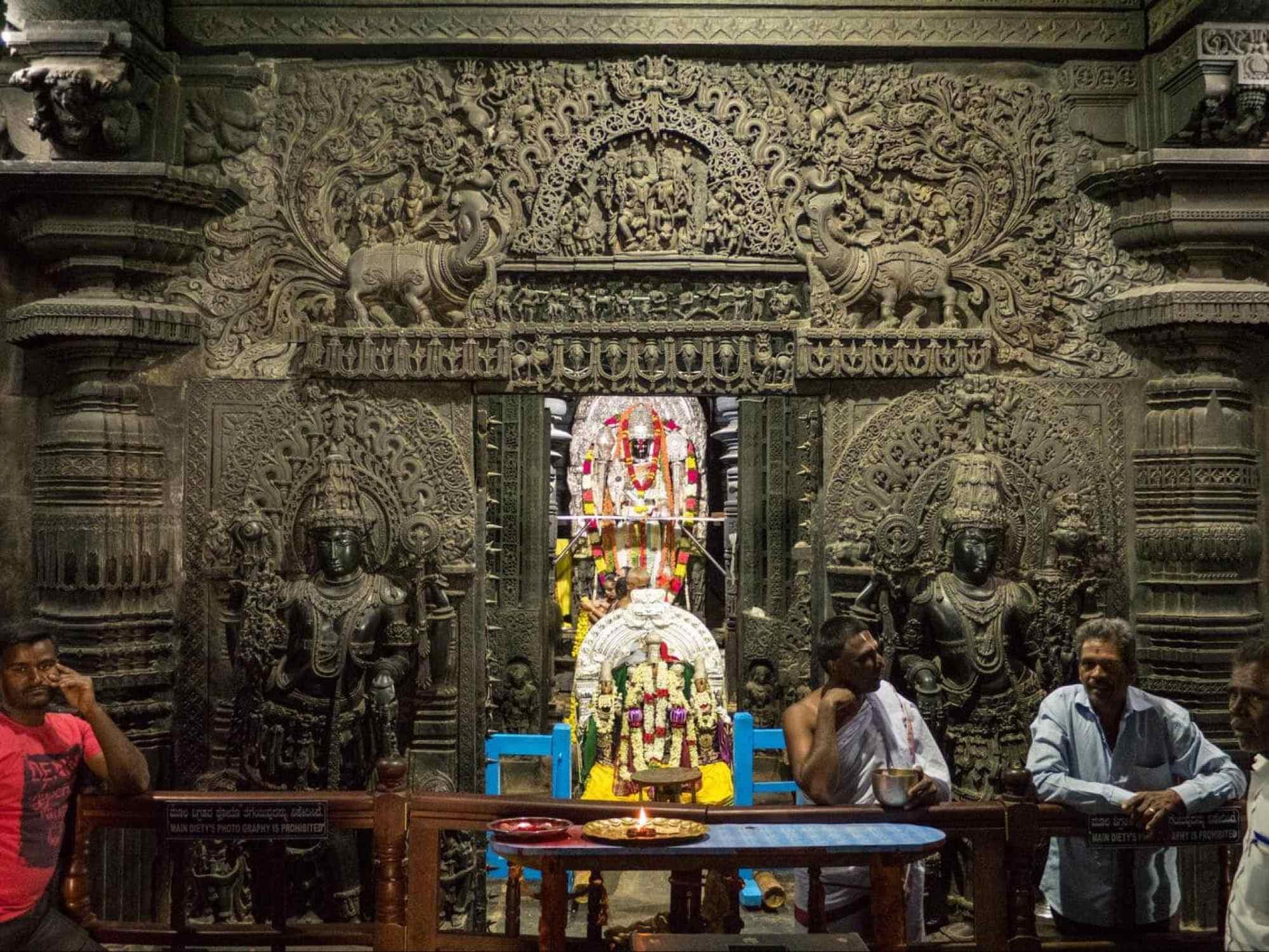 Belur shrine