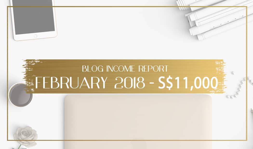Blog income report February 2018 main