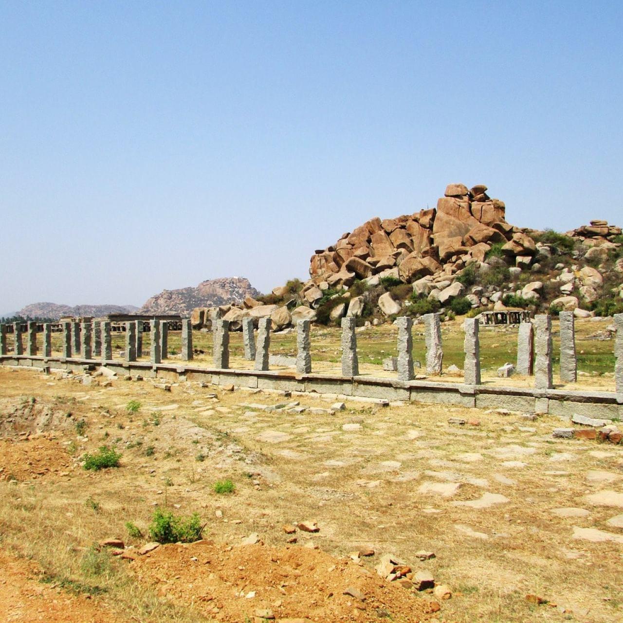Hampi's path to Vittala Temple