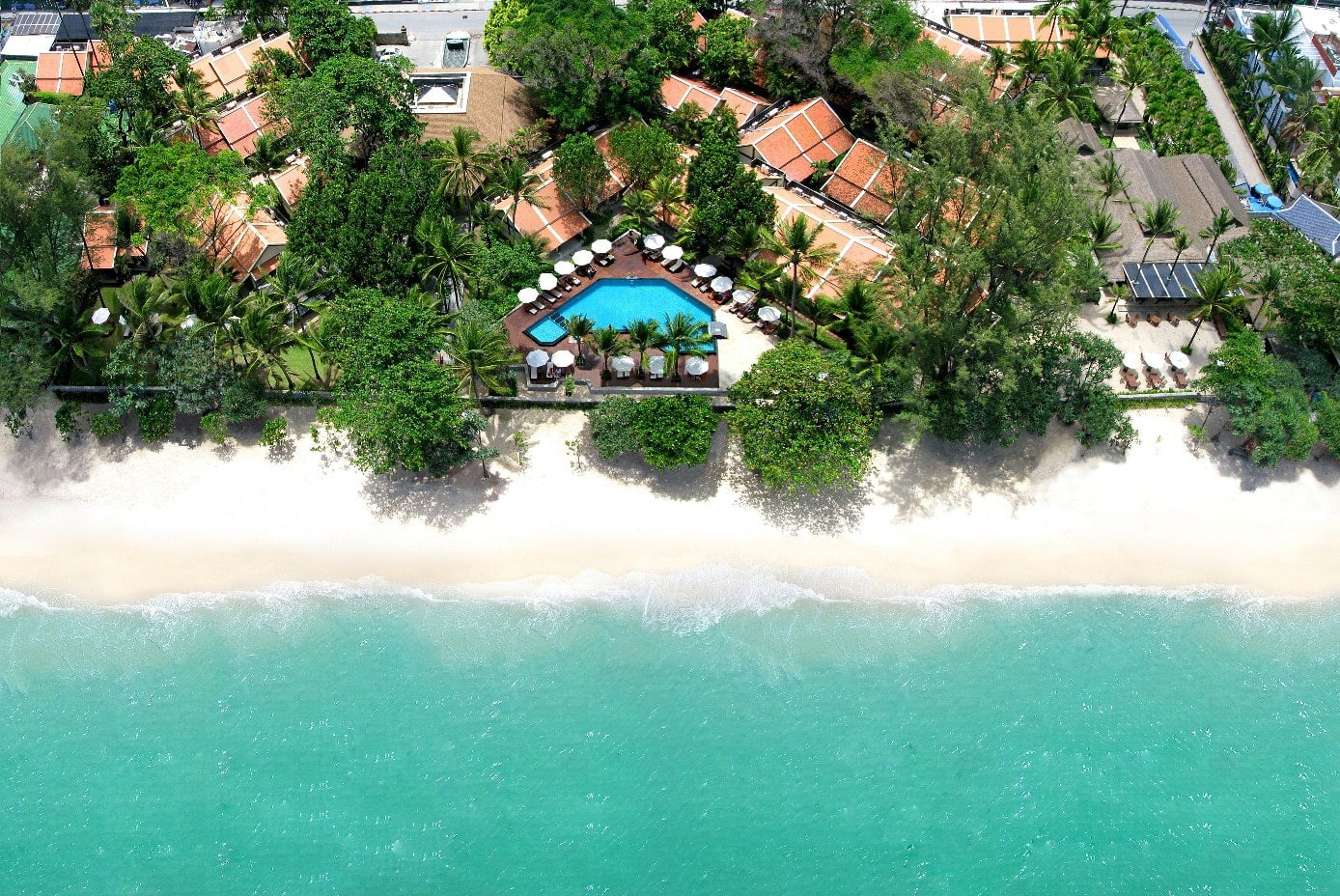 Impiana Resort Patong from above