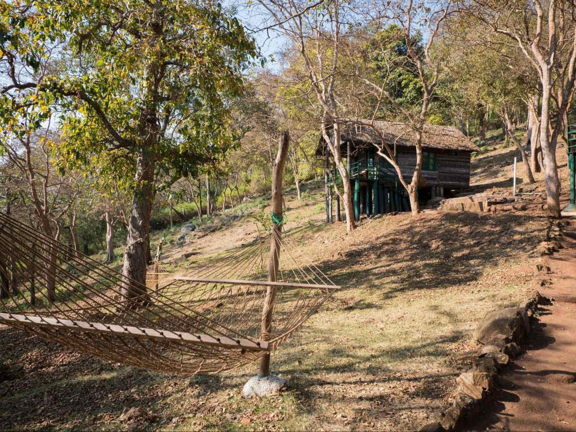 K Gudi tented camp and log cabins
