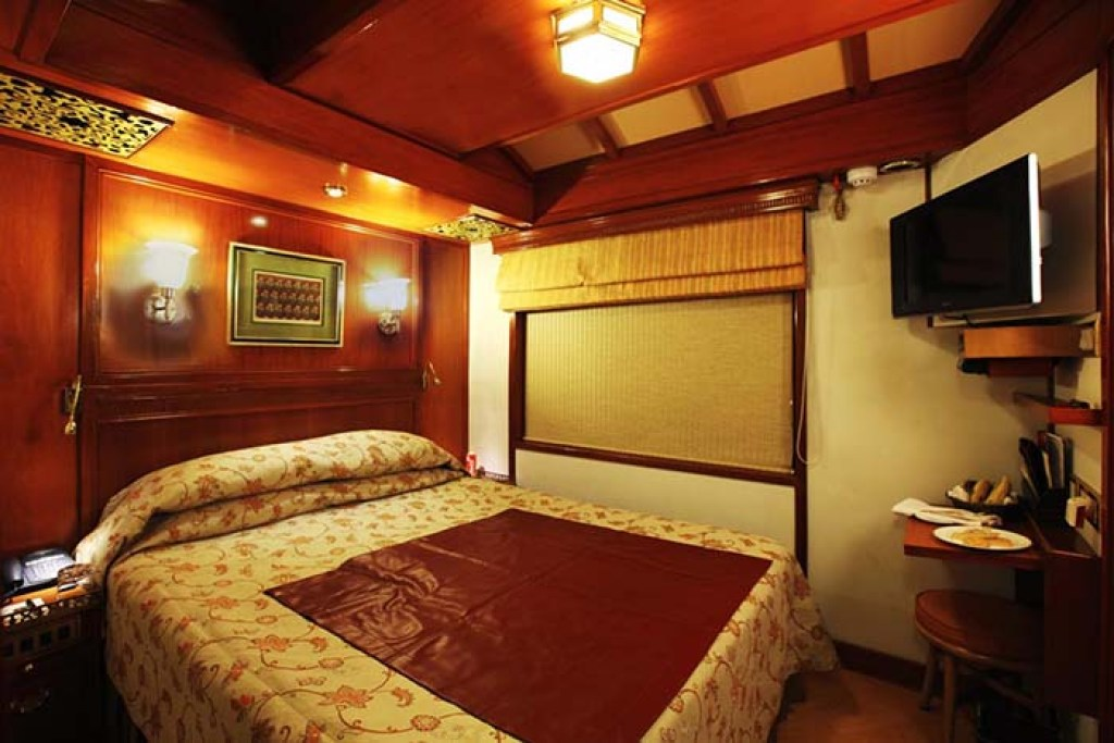 Maharajas Express cabin