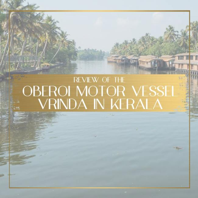 Oberoi Motor Vessel Vrinda feature