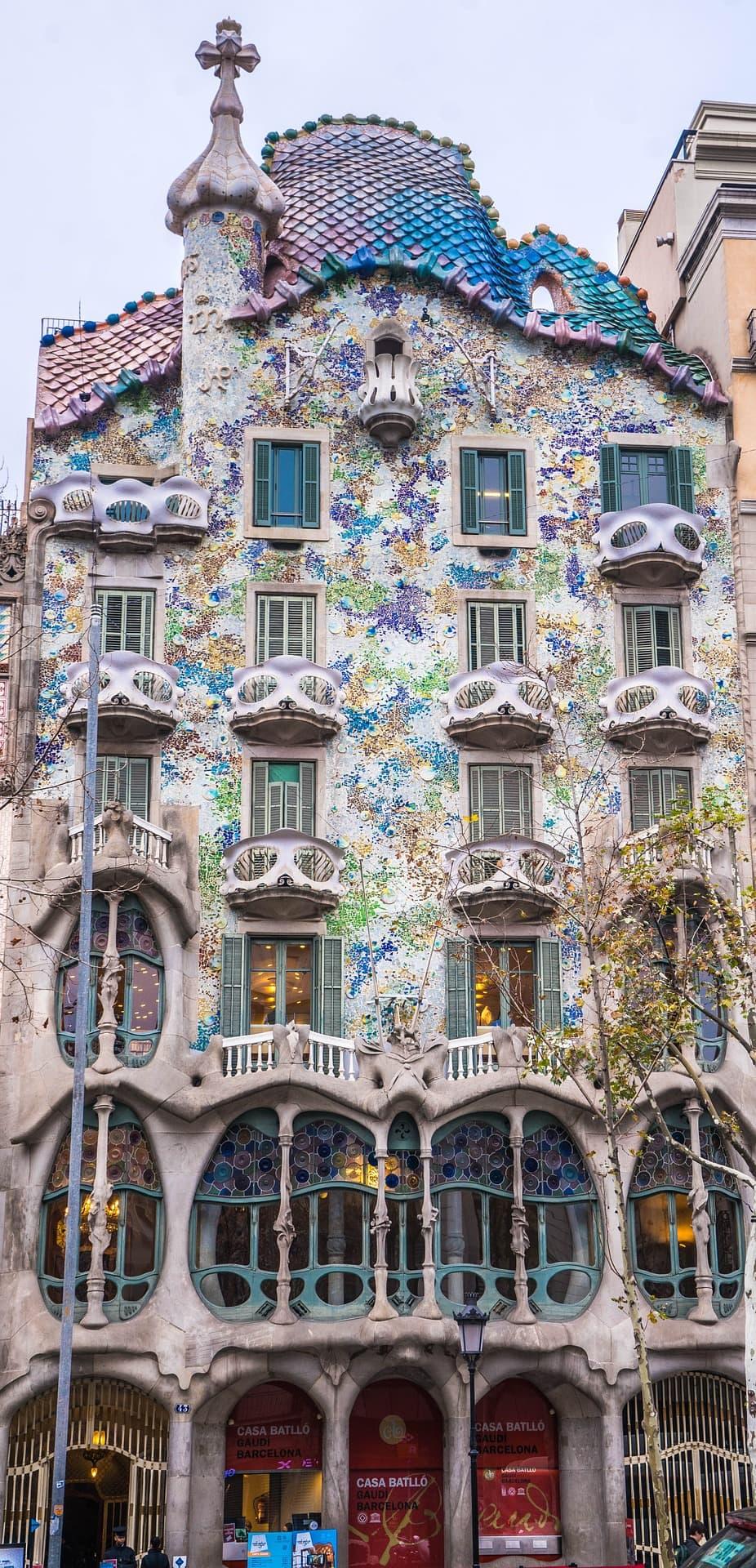 Casa Batllo on a one day in Barcelona tour
