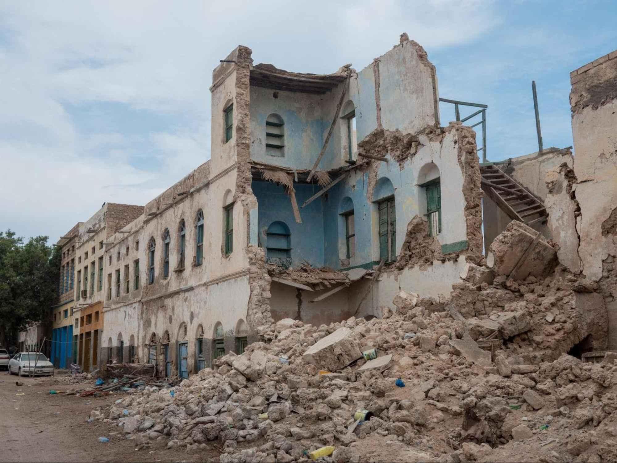 More old colonial buildings in Berbera