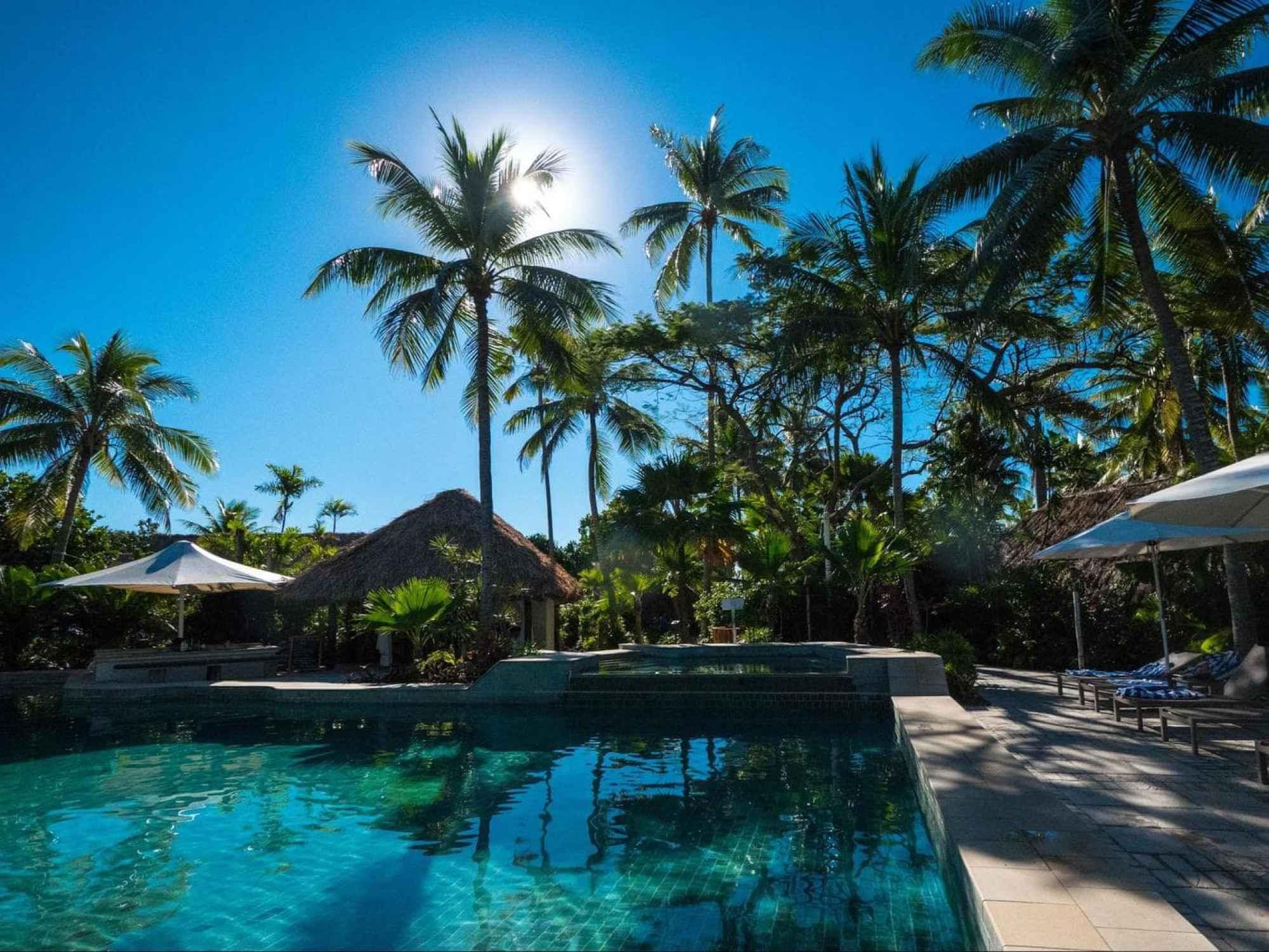 Adults friendly pool at Castaway Island