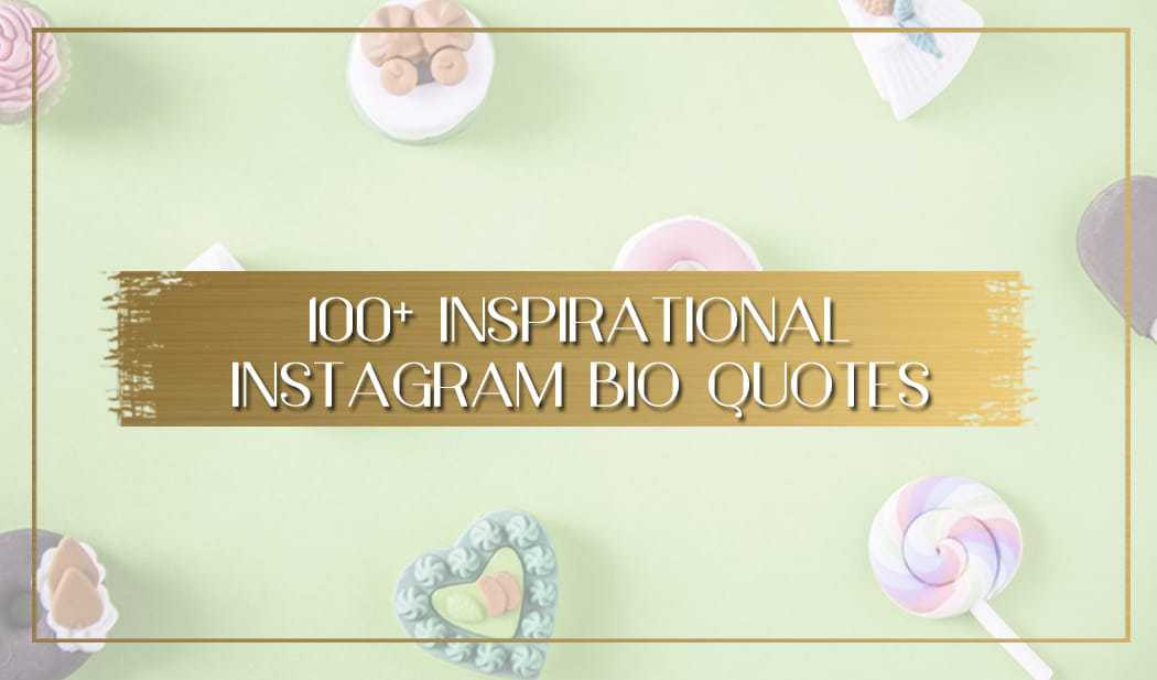 100 Instagram Bio Quotes To Inspire Once In A Lifetime Journey