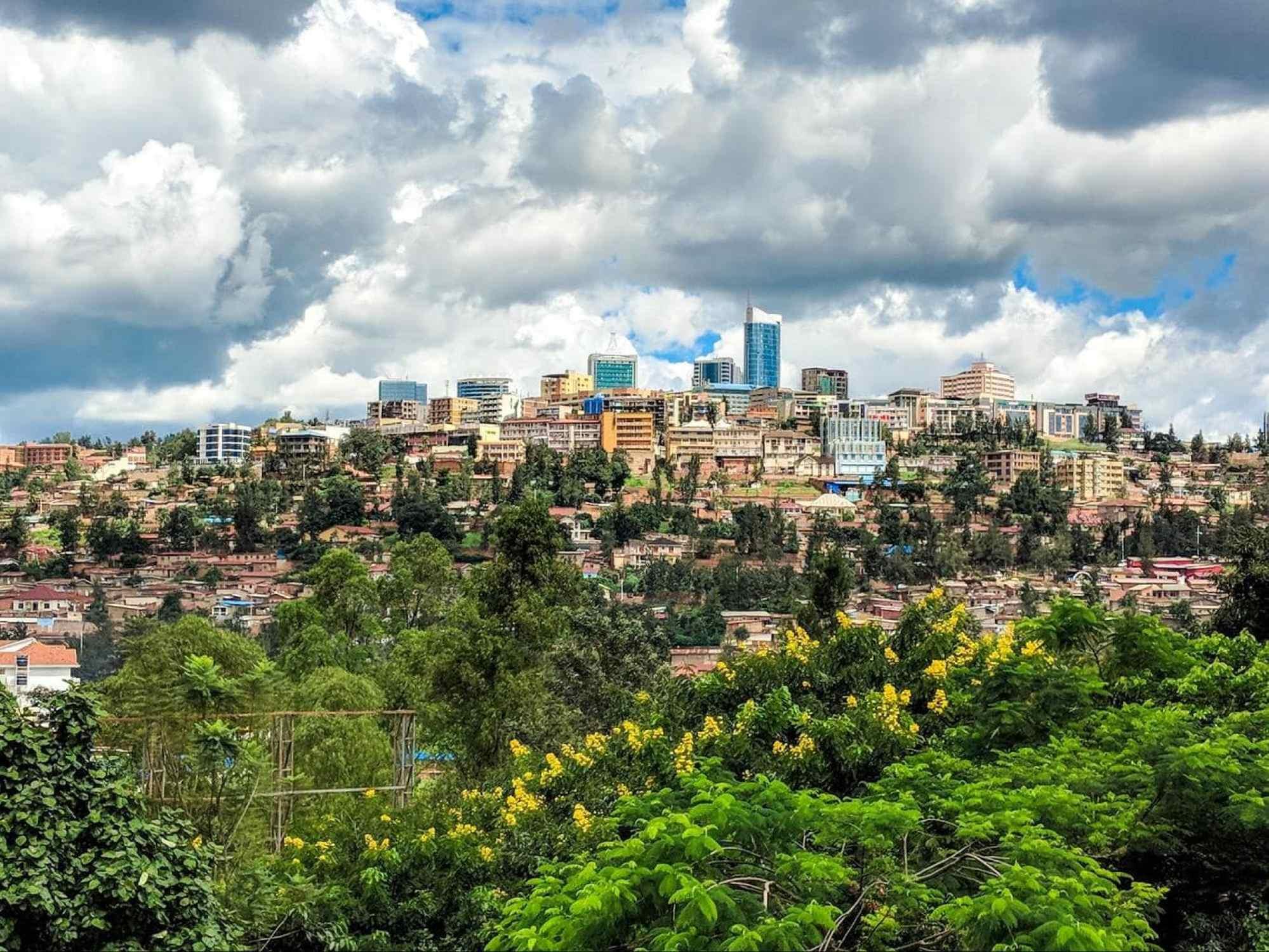Kigali city view