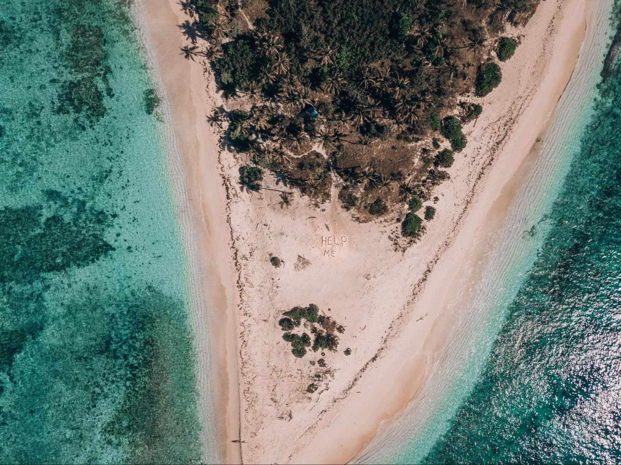 Mondriki Island from the movie Cast Away