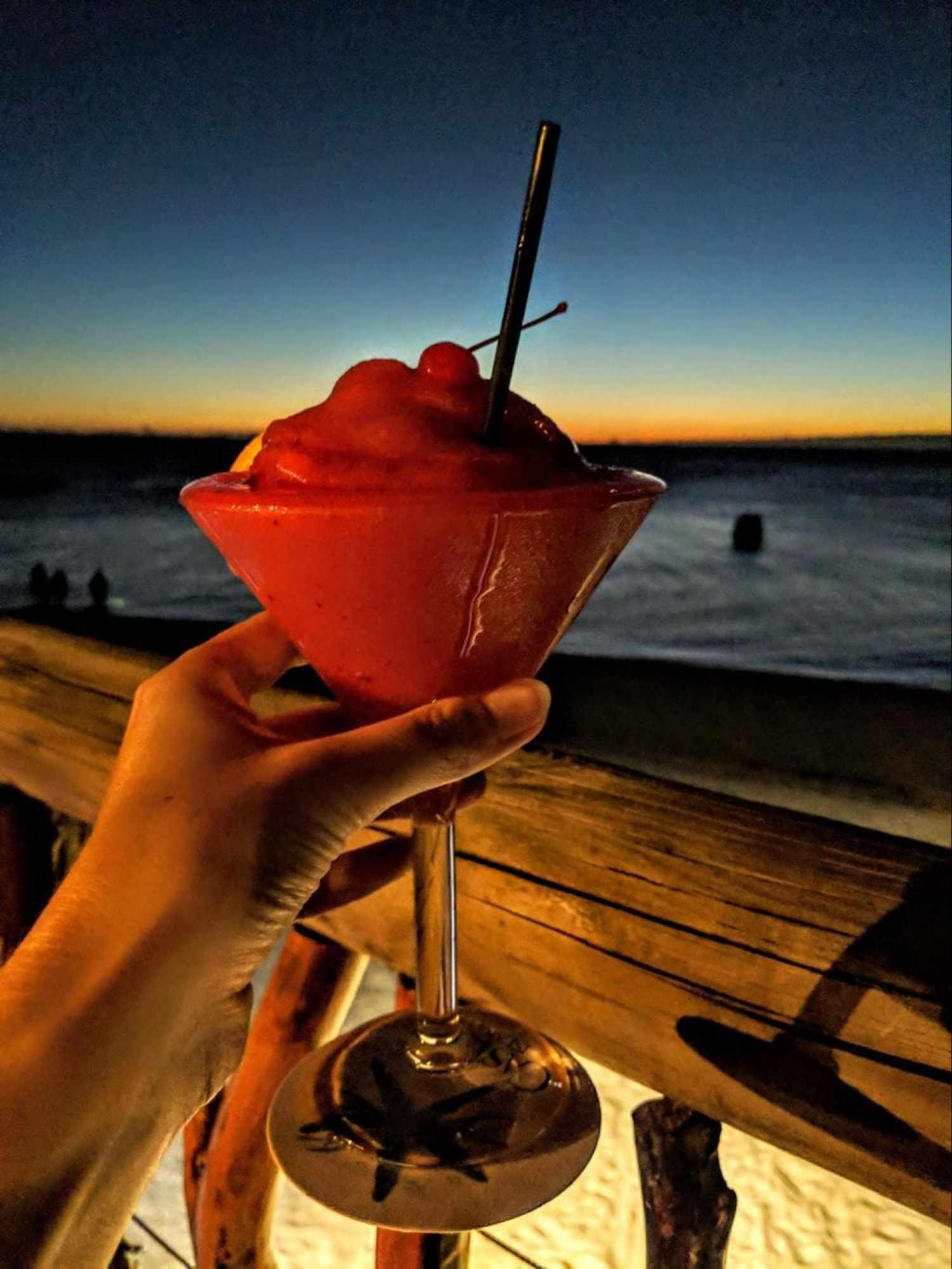 Sunset drinks at Sundowner