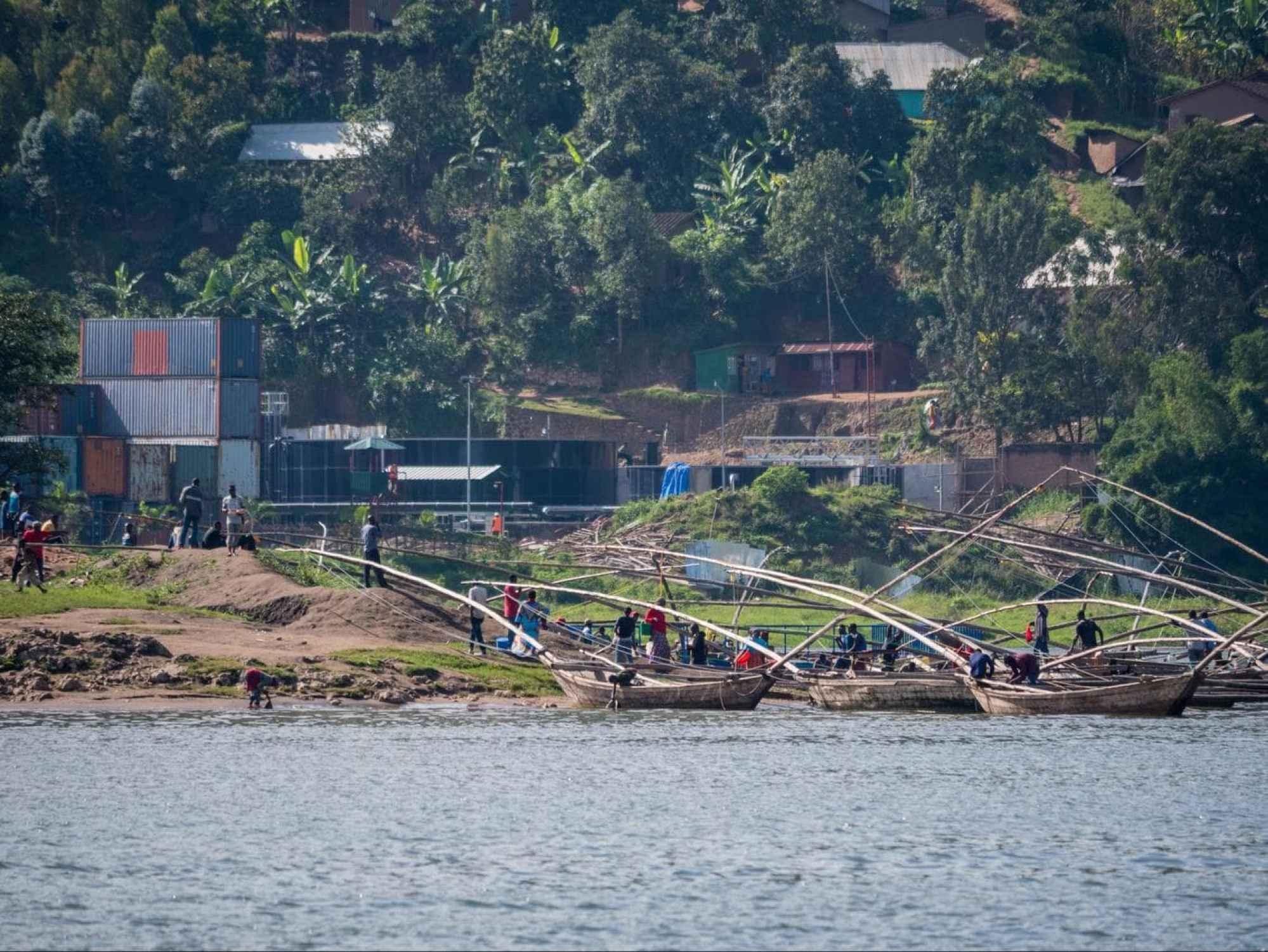 The famous fishermen of Lake Kivu