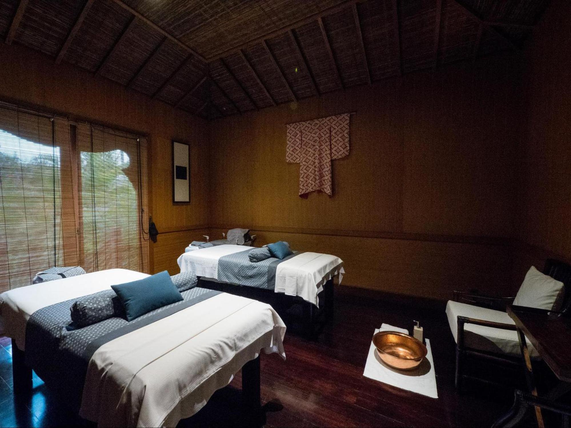 The spa at The Sanchaya