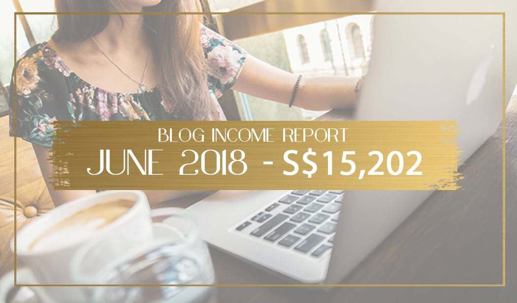 Blog income report for June 2018 main