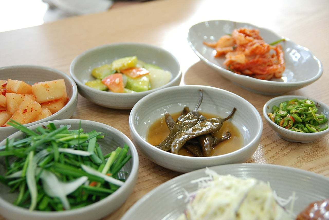 Bottomless side dishes are served with almost every meal