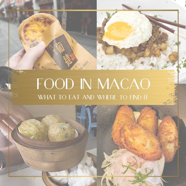 Food in Macao feature