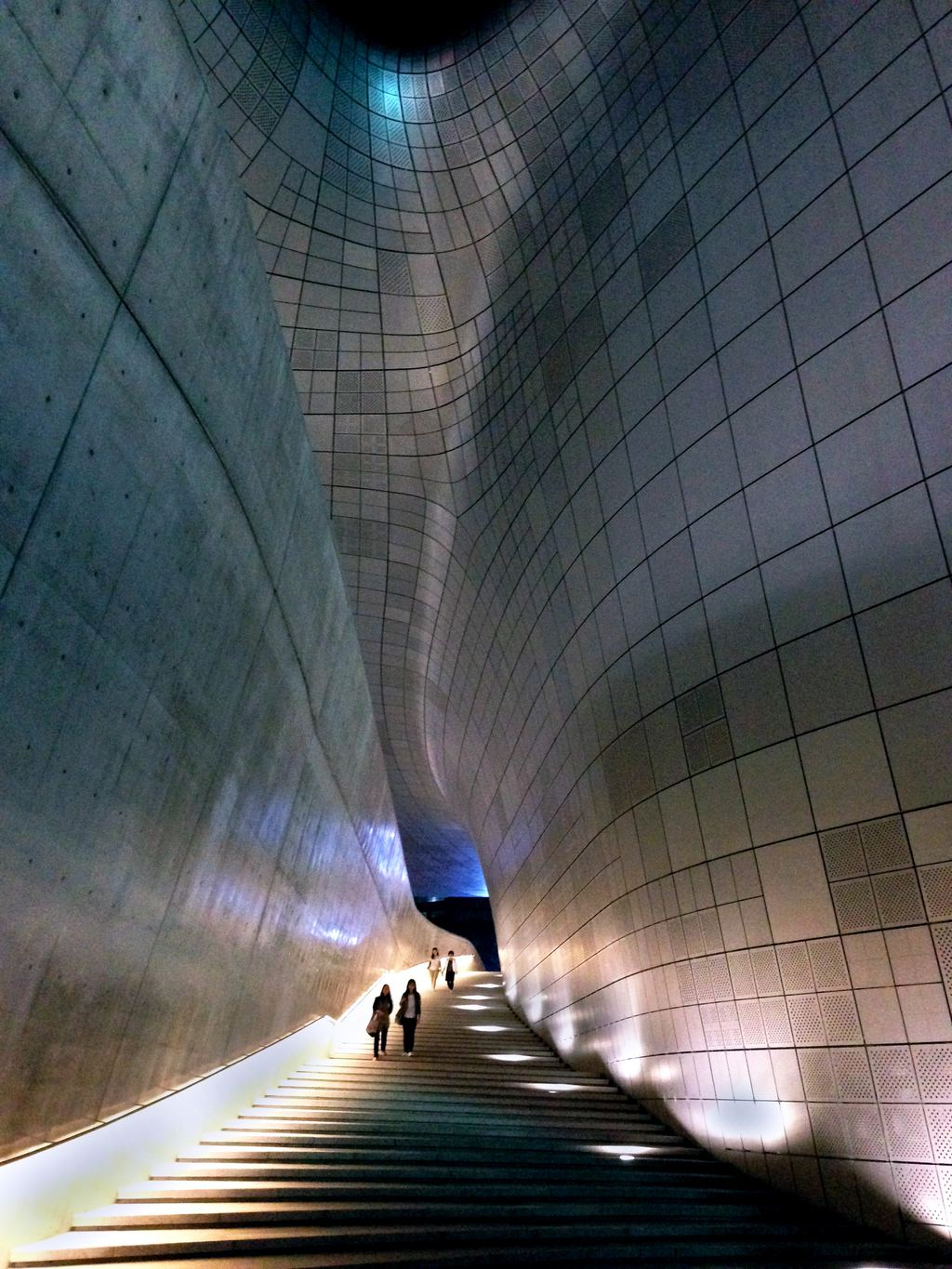 Interior of the Dongdaemun Design Plaza
