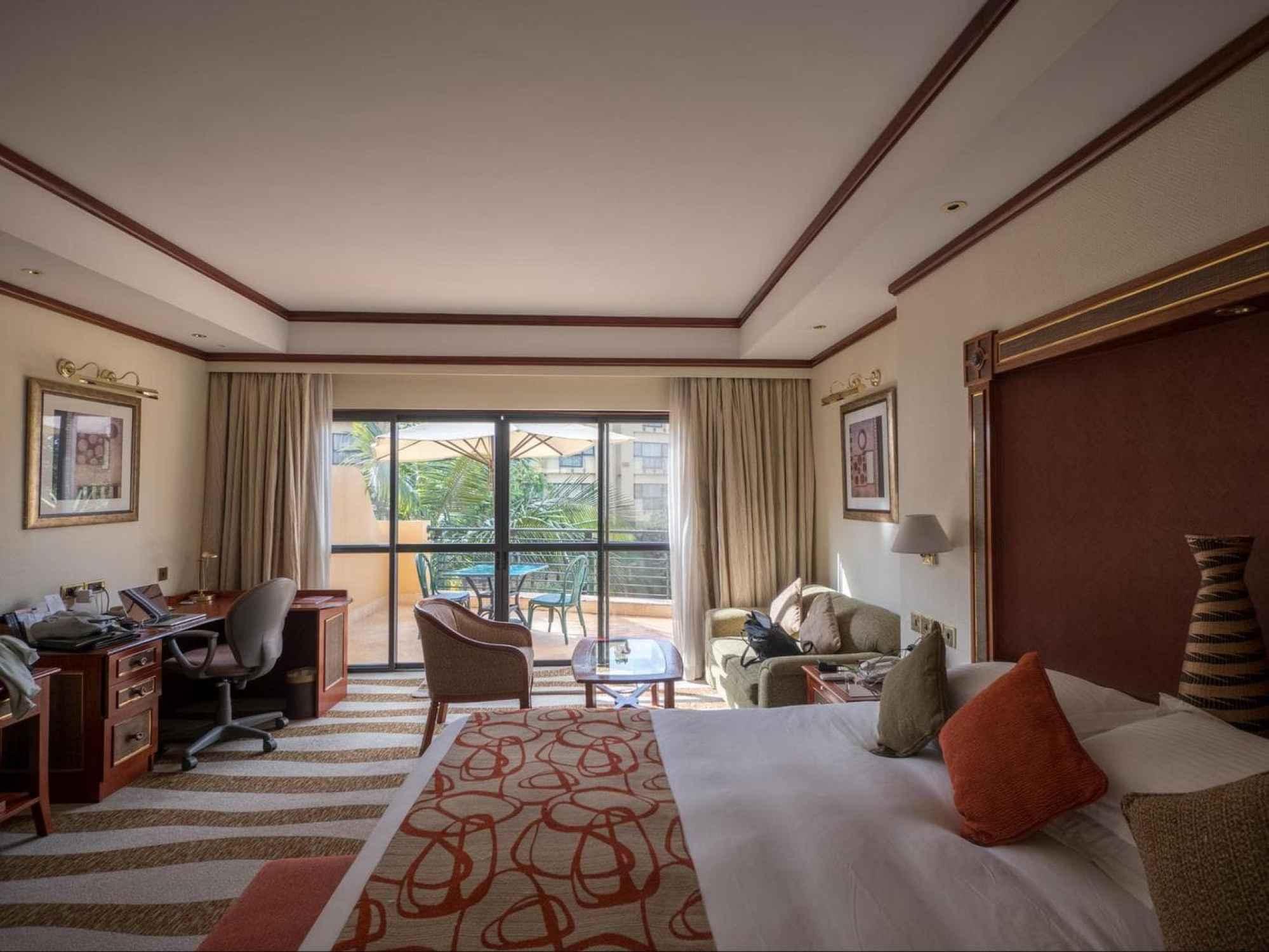Kigali Serena Hotel suite