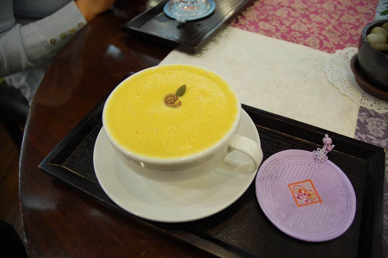 Pumpkin tea in Seoul
