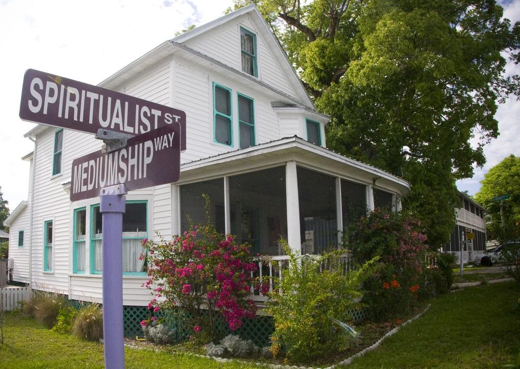 Cassagada Spiritualist Camp house