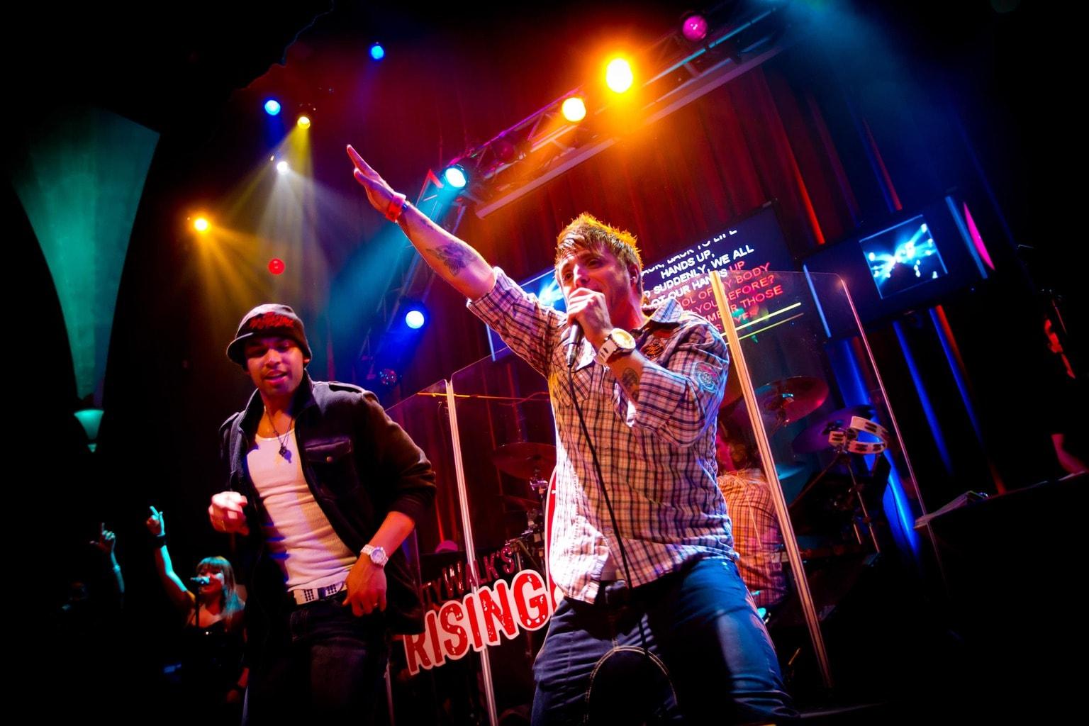 CityWalk's Rising Star karaoke
