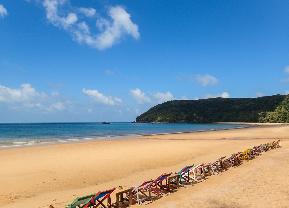 Dam Trau, Airport Beach in Vietnam