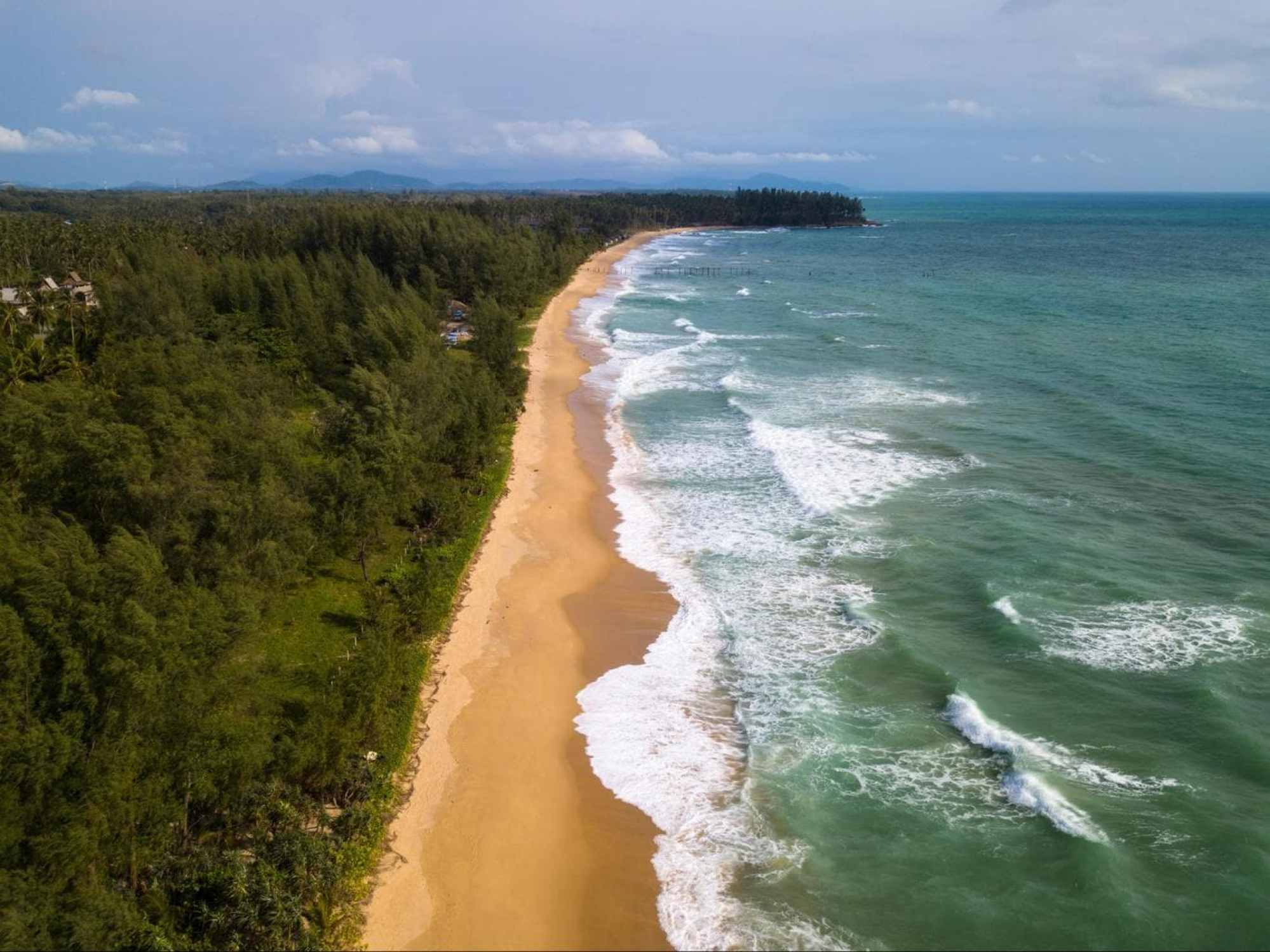 The beach at Baba Beach Club