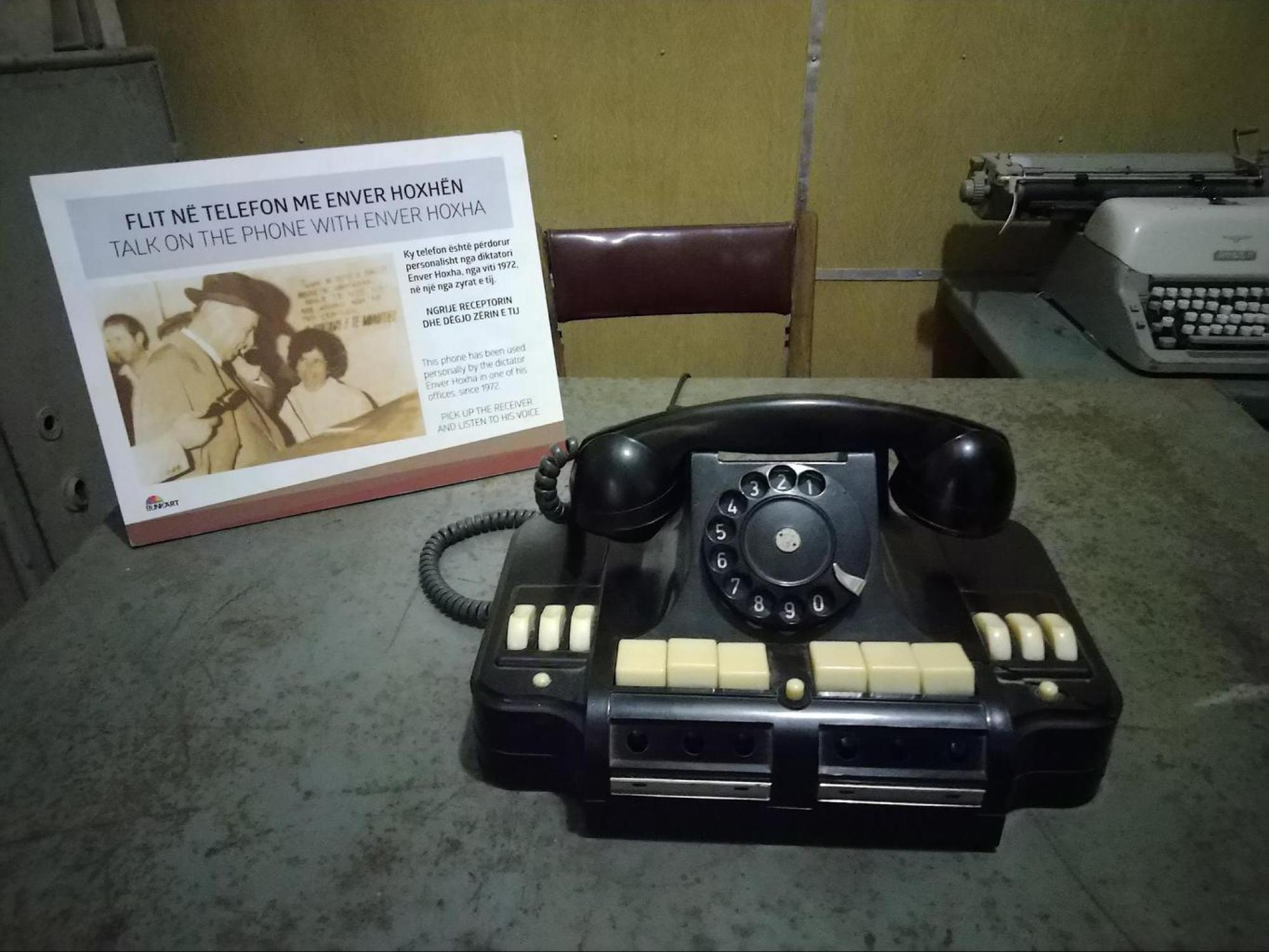 Enver Hoxha's phone