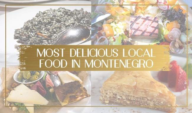 Local Food in Montenegro feature