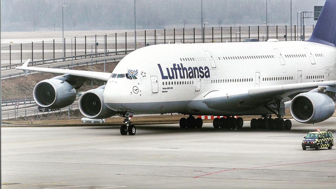 Lufthansa second A380 aircraft