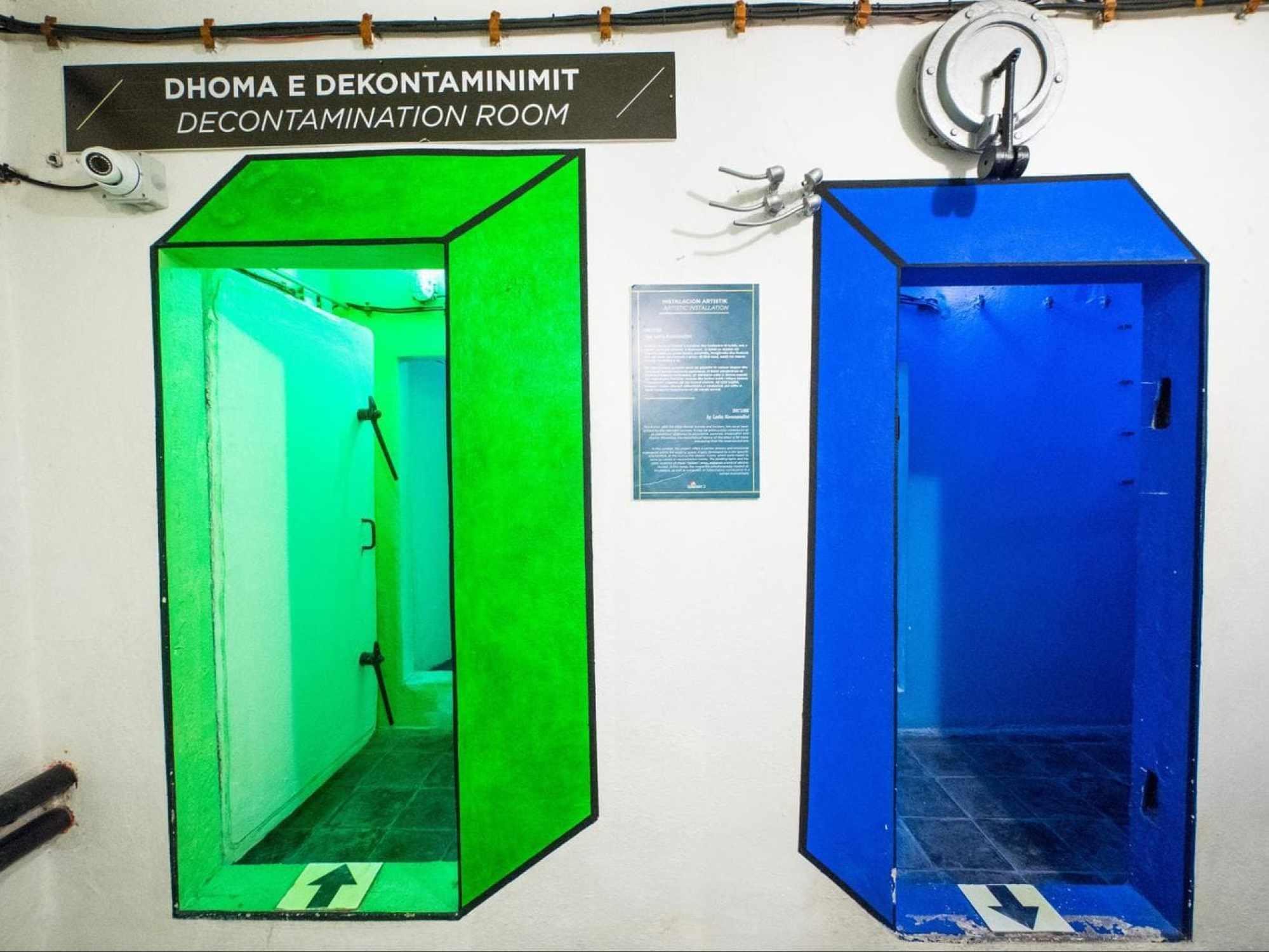 One of Bunk'Art 2 art installations
