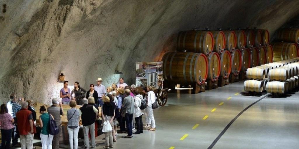 Plantaze underground cellar