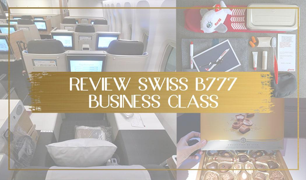 Swiss Business Class B777 review main