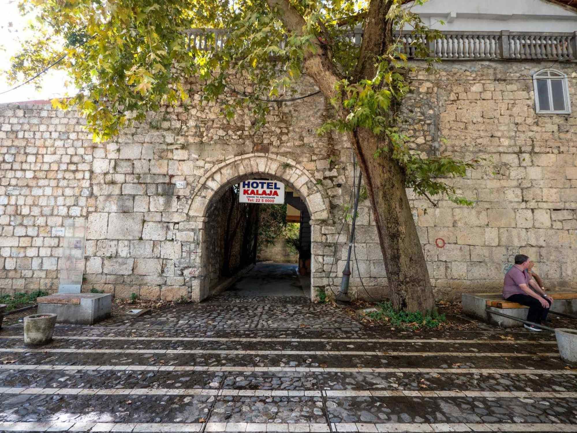 The Tirana Castle wall