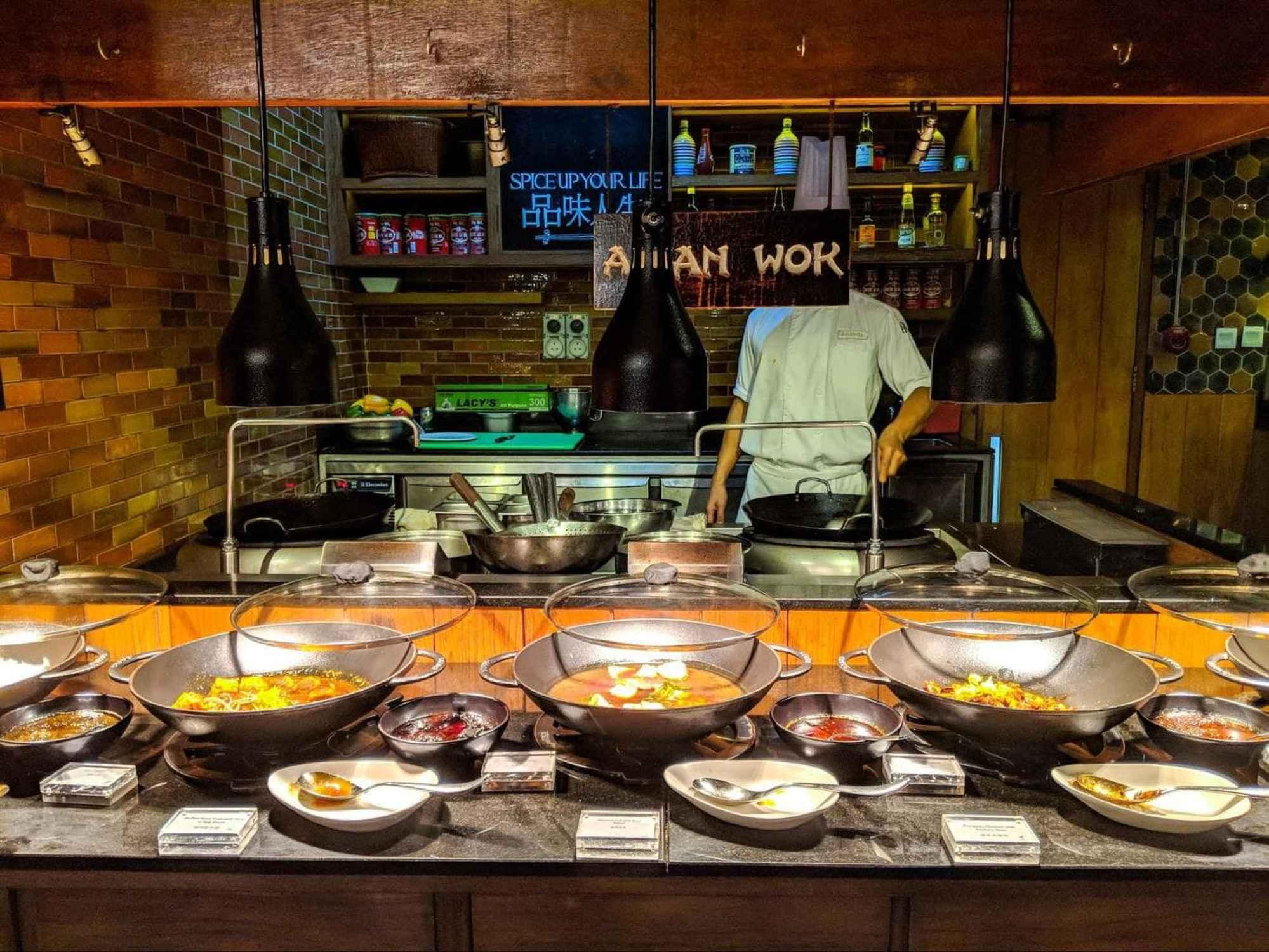 Asian wok at East Market