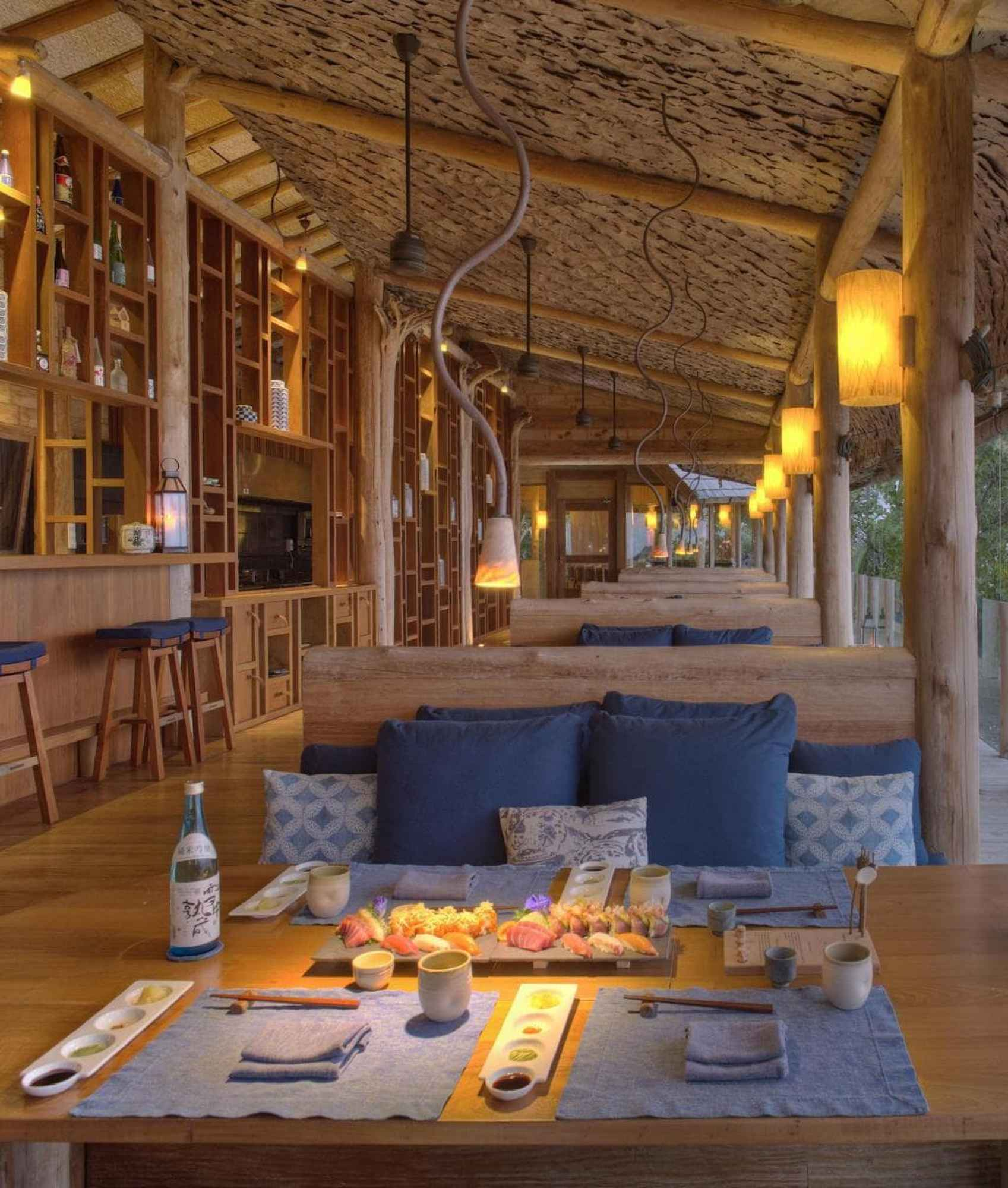 By the Sea seating - Courtesy of Gili Lankanfushi
