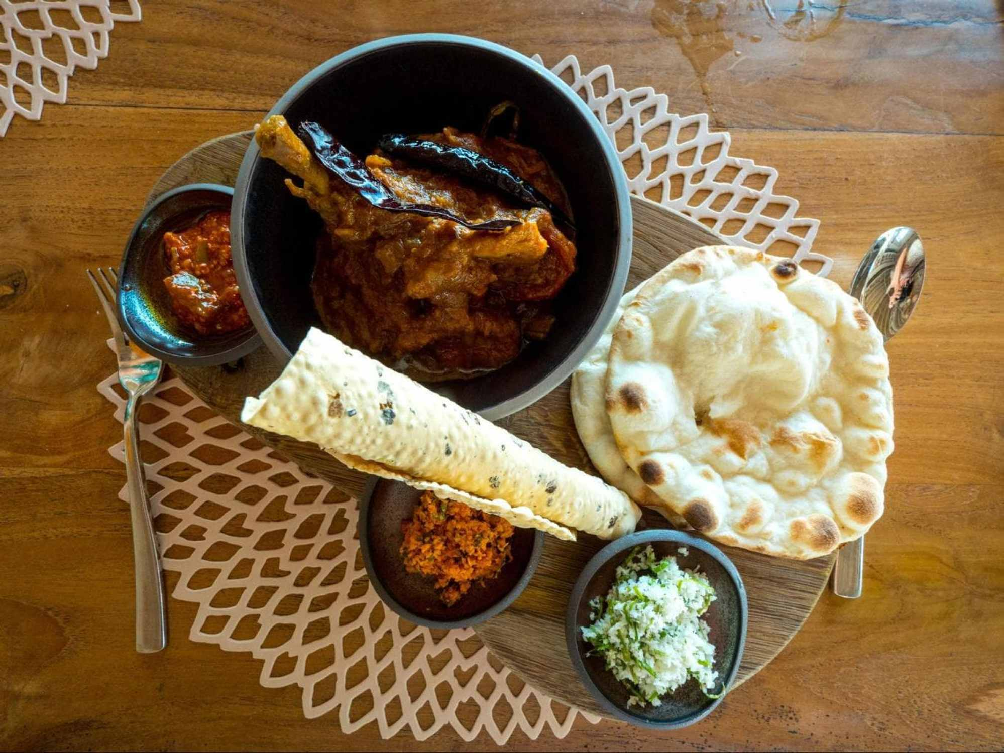 Curry at Senses