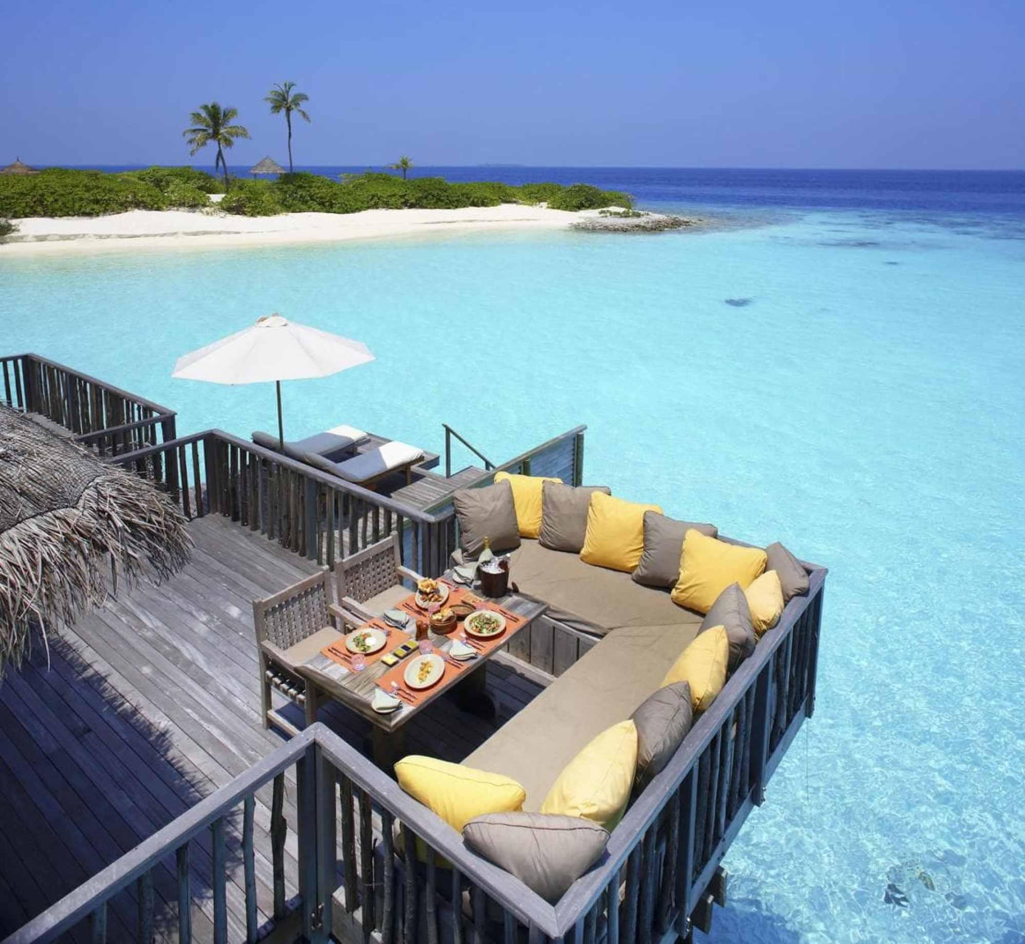 Family villa at Gili Lankanfushi - Courtesy of Gili Lankanfushi