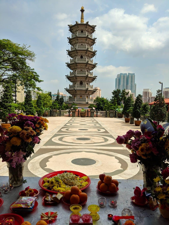 Shuang Lin Monastery pagoda