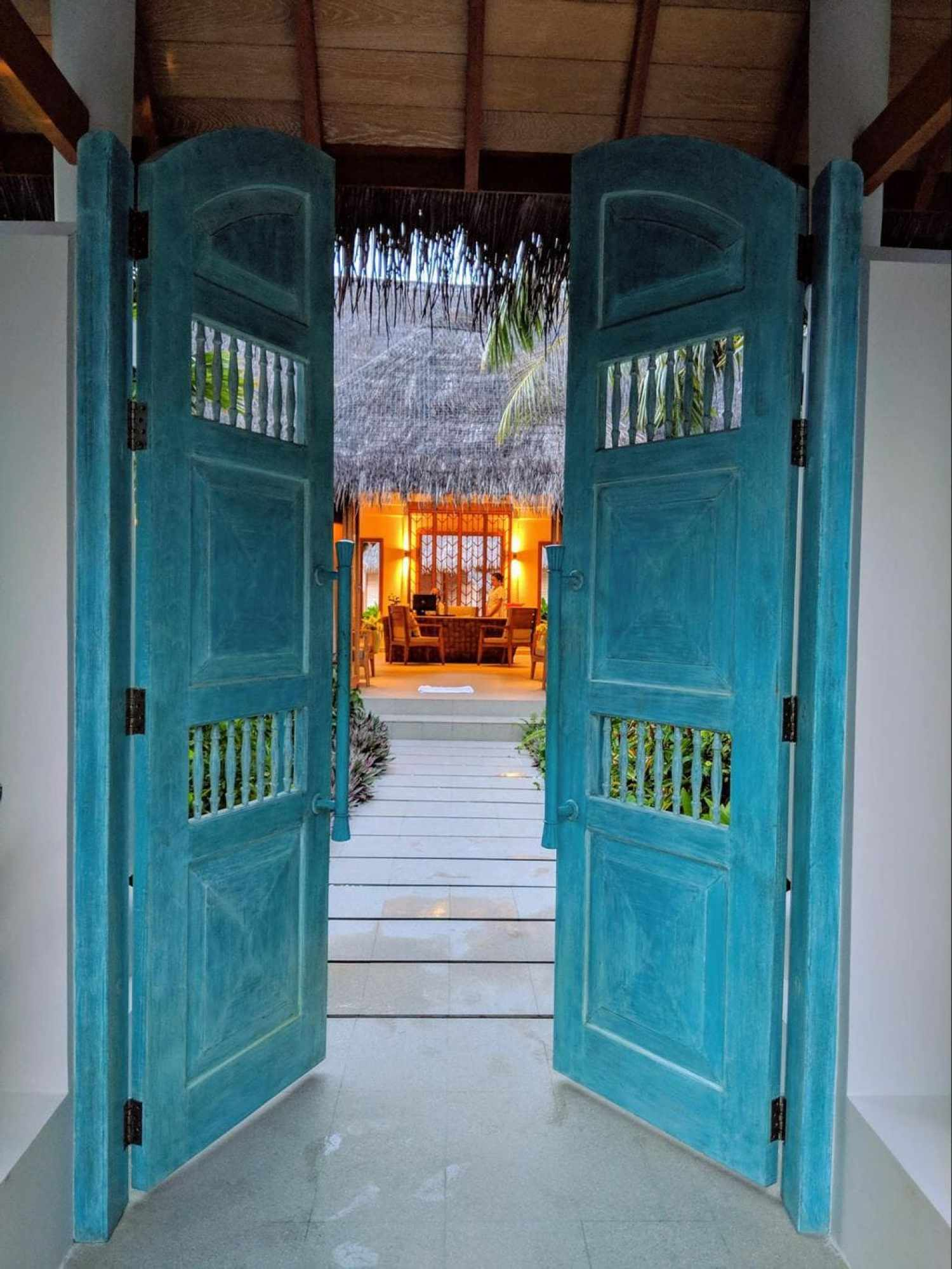 The entrance of Serenity Spa