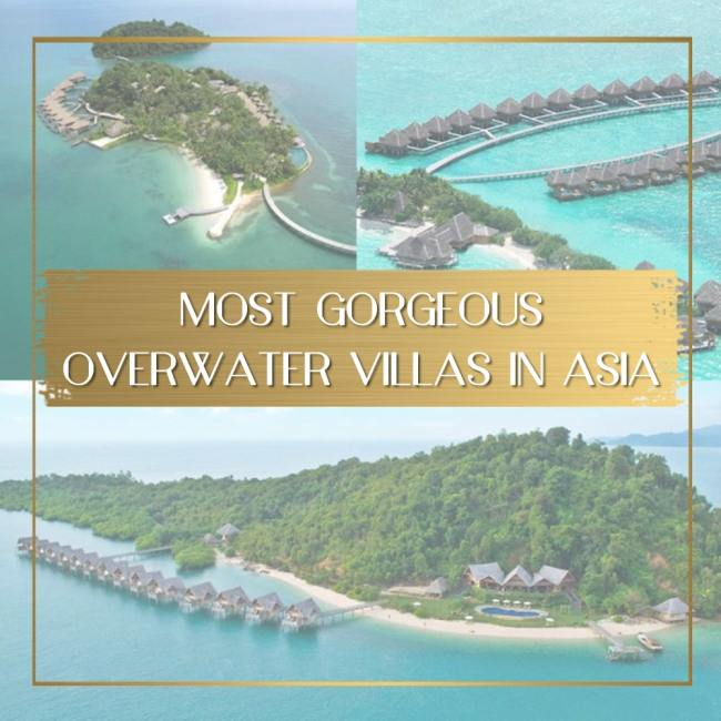 Most gorgeous overwater villas in Asia feature