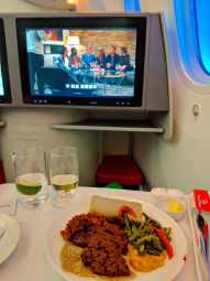 New Ethiopian Airlines Boeing 787 food 05