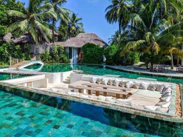 Pool at the Private Reserve at Soneva Fushi